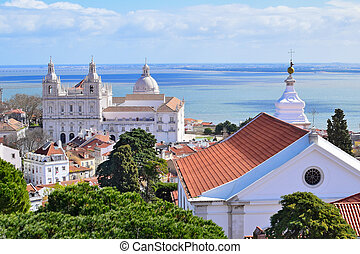 Church of Saint Vincente in Lisbon, Portugal