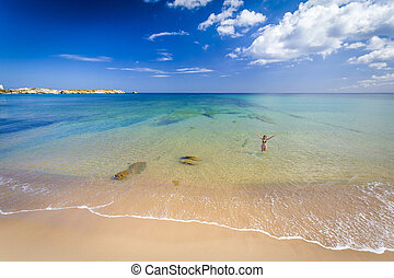 Beautiful beach - Beautiful landscape of a portuguese beach...