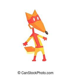 Fox Super Hero Character
