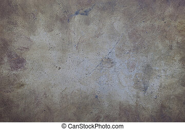 dirty and scratched metal background - grunge background -...