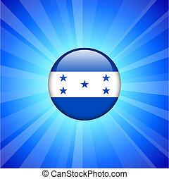 Honduras Flag Icon on Internet Button