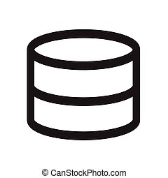 Data Storage icon Illustration design