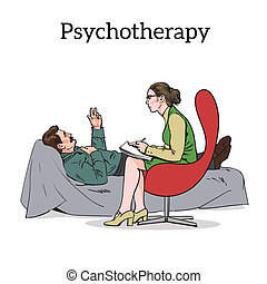 Counselling and assistance of a psychologist. Patients...