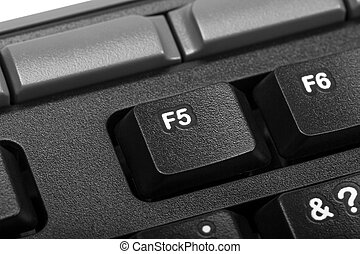 Electronic collection - detail computer key f5 - Electronic...
