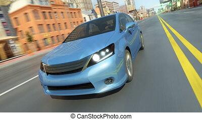 car city - high quality 3d animation 4k