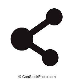 Share icon Illustration design
