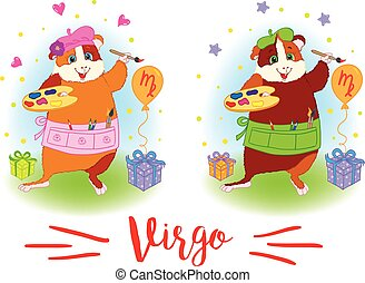 The signs of the zodiac Guinea pig Virgo - The signs of the...