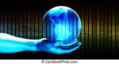 Global Technology Concept
