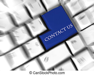 contact us - enter sign - Replaced enter sign at keyboard.