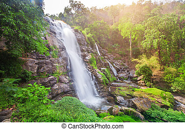 Chaimai Waterfall, Chiangmai, Thailand Wachiratarn Waterfall...
