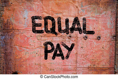 Equal Pay Concept