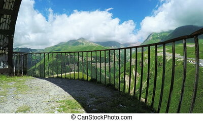 Observation deck Mountain - Old observation deck Gudauri,...