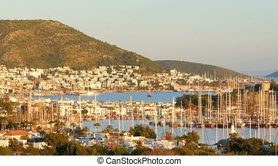 """bodrum yacht marina, holiday destination in turkey"""
