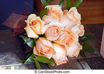Wedding bouquet, flower