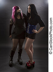 Goth slave and master