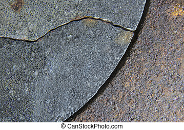 Rust and Corrosion texture - Coating texture of corrosion...