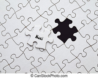 heal on the puzzle