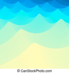 Water Wave Water Surface Nature background Modern pattern...