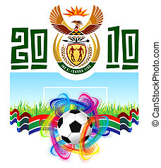World Cup In South Africa 2010 Bitmap version