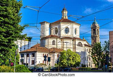 San Bernardino alle Ossa, a church in Milan - Italy