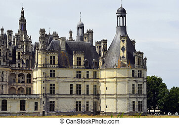 France, Chambord - Chateau de Chambord in France