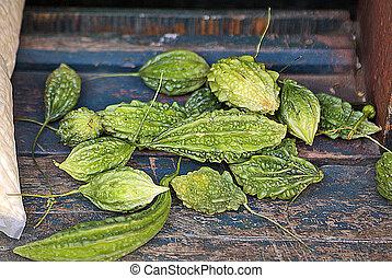 Bhutan, Botany - Bhutan, bitter cucumber aka bitter melon