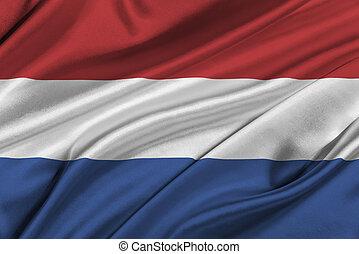 Flag of Netherlands.