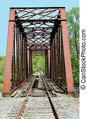 Old train trestle - A Old train trestle