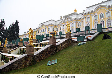 Saint petersburg Peterhof