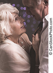 Our love is stronger than time - Shot of an elderly couple...