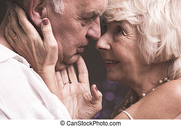 Still young at heart - Shot of an elderly husband and wife...