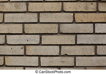 White brick wall for a background or texture