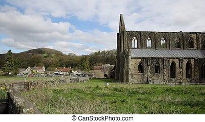 Tintern Abbey Chepstow Wales uk