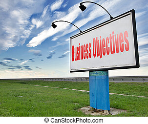business objectives - Business Objectives firm statement on...