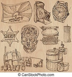 Objects - an hand drawn vector pack - OBJECTS Description -...