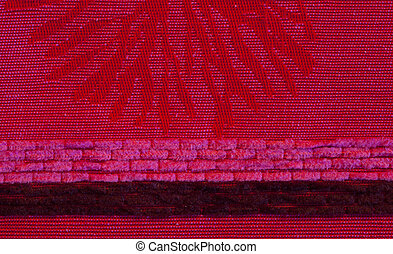 a extreme closeup of fabric