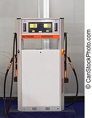 LPG Station - Liquefied Petroleum Gas Pump at Filling...