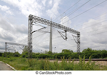 Train Line Power - Overhead Train Line Electrical...