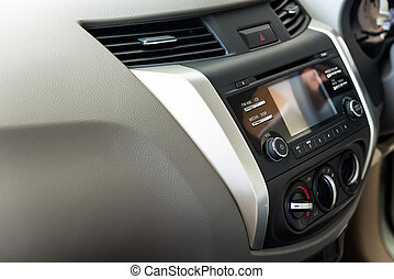 Main dashboard, car interior