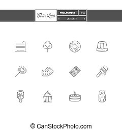Thin line icon set of vacation summer travel, summer holiday, objects and tools elements. Travel interface icons, sea, ice cream, map. Logo icons.