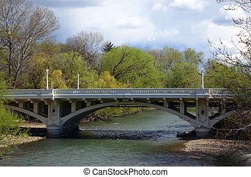 Capitol Blvd Bridge - The Capitol Blvd Bridge crosses the...