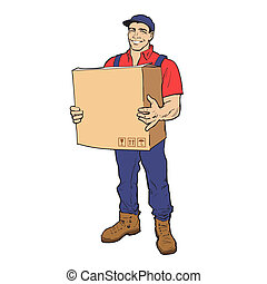 Delivery of goods. Moving Companies.