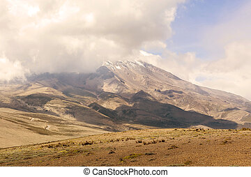 Chimborazo Volcano Is A Currently Inactive Strato Volcano -...