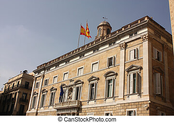 Generalitat Palace. Government of Catalonia.
