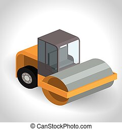 truck isometric design - truck isometric design, vector...