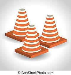 cones isometric design