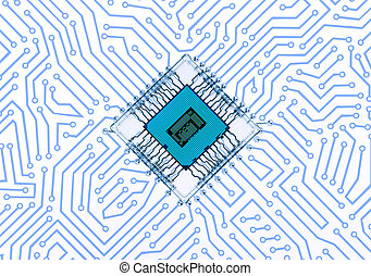 Circuit Board Abstract Background - ElectronicsTechnology...