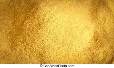 Pile Of Yellow Powder Rotating - Generic yellow powder...
