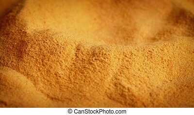 Powdered Food Supplement Rotating - Pile of generic food...