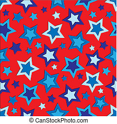 Fourth of July Stars